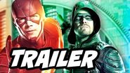 The Flash Arrow Supergirl Crossover Extended Trailer Breakdown