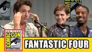 Fantastic Four Comic Con Panel - Miles Teller, Kate Mara, Michael B