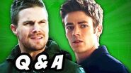 The Flash and Arrow Season 3 - Time Traveling Suicide Squad Q&A
