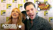 'Shadowhunters' At Comic-Con Katherine McNamara & Dominic Sherwood Excited For Sarah Hyland