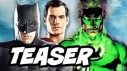 Justice League Green Lantern Concept Teaser and Green Lantern Corps Movie Explained