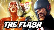 The Flash vs Reverse Flash Black Flash Full Timeline 4K HD - Why He Always Returns Explained