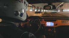 Jeremy in Monaco Tunnel