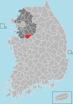 Anseong map 001