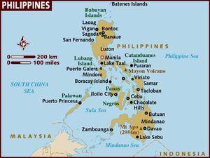 Phillipines map 001