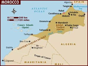 Morocco map 001