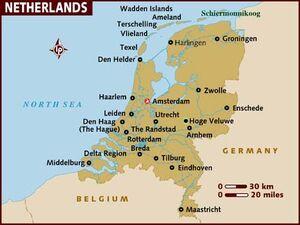 Map Netherlands 001