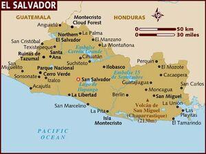 El Salvador map 001