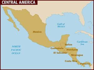 Central America map 001