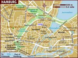 Hamburg map 001