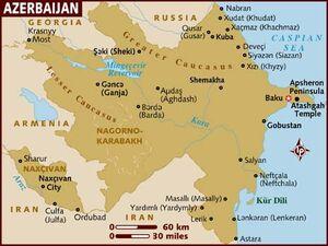 Azerbaijan map 001