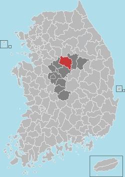 Chungju map 001