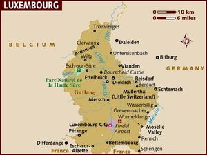 Luxembourg map 001