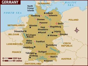 Germany Map 001