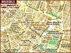 Brussels map 001