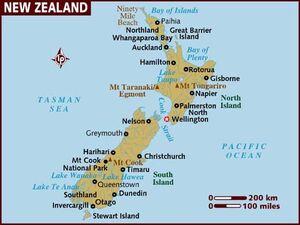 New Zealand map 001