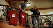 Frank Campana shirt hanging