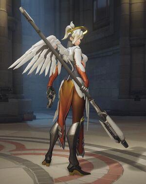 Mercy Ready for Battle