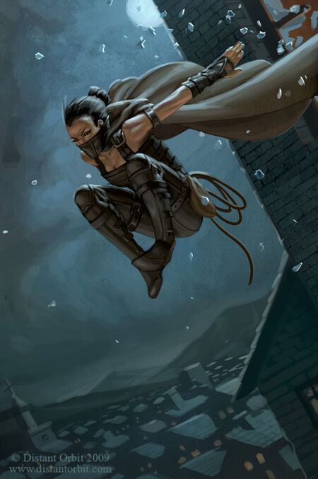 The Thief by capprotti