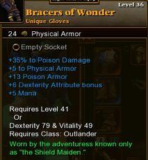 Bracers of Wonder