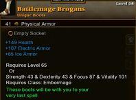 Battlemage Brogans