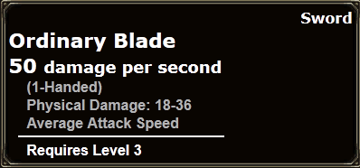 Ordinary Blade
