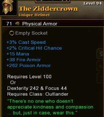 The Ziddercrown