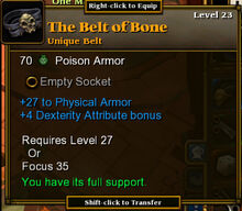 The Belt of Bone