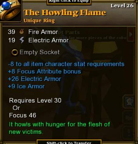The Howling Flame
