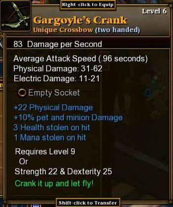 Gargoyle's Crank