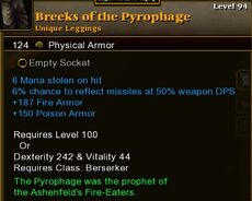Breeks of the Pyrophage