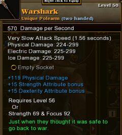 Warshark new