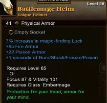 Battlemage Helm