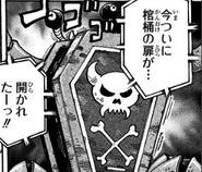 Casket Crab open the coffin