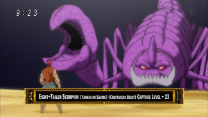Eight-Tailed Scorpion Eps 61
