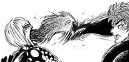Parasite Emperor in Tommy bites Toriko