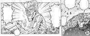 Jirou relaxing on Emerald Dragons back