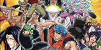 Toriko: Gourmet ga Battle/Stages