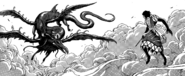 Starjun encountering Joa with his dragon