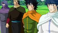 Yukimaru, Raimaru, Kagemaru and Tsukimaru