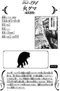 Fire Bear's data