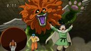 Sphinx chasing out Toriko, Zebra and Komatsu