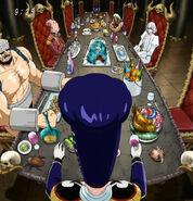 Bishokukai Chefs meeting at dinner