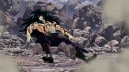 Starjun lies on the ground