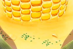 Corn Potage Tree soup