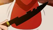 Chiru knife upclose