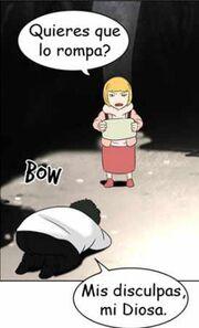 Laure y Sunwoo la secuestradora de su almohada.jpg