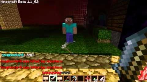 Minecraft Mob Fun with Markbyron, (server owner)