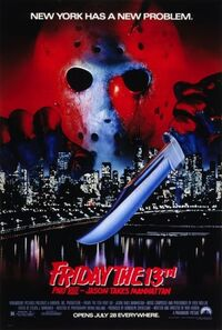 Friday the 13th Part VIII Jason Takes Manhattan poster