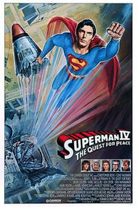 Superman 4 poster